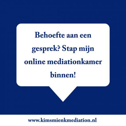 Online mediation tijdens Corona. Wat is dat?